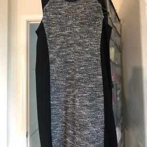 Eileen Fisher Dresses - Eileen Fisher 2 piece jacket dress tweed set P/S